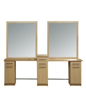 """Мужское зеркало барбер """"Саба Бис-дабл"""""""